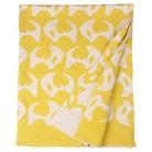 Orla Kiely Reversible Baby Blanket - Yellow Elephant