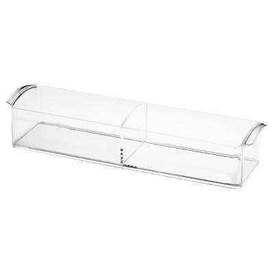 Medicine Cabinet Storage Tray Clear Large InterDesign