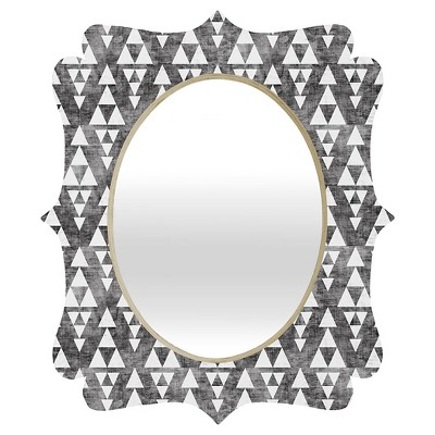 DENY Designs - Holli Zollinger - Stacked Quatrefoil Mirror