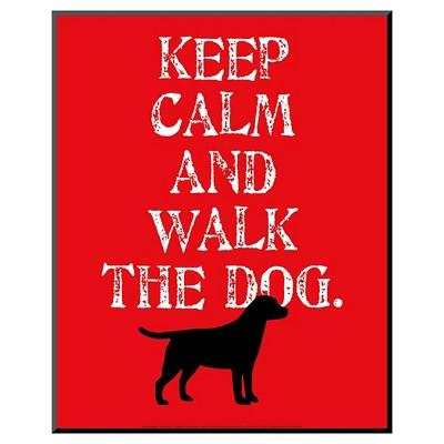 Art.com - Keep Calm (Labrador) by Ginger Oliphant - Mounted Print