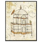 Art.com - Bird Cage I by Avery Tillmon - Mounted Print