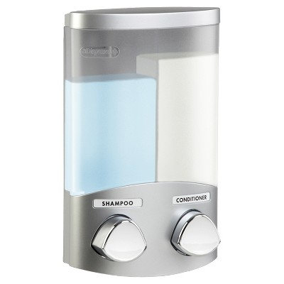 Better Living Products Euro Two Chamber Dispenser -  Satin Silver