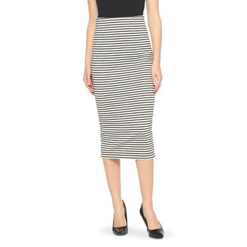 striped pencil skirt xoxo target