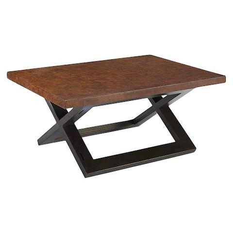 Hudson Cork Coffee Table Black Copper Homeware Target