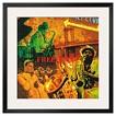 Art.com - Free Jazz by Tyler Burke - Framed Print