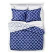 Fretwork Reversible Duvet Cover Set