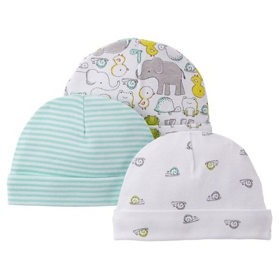 Just One You™Made by Carter's® Newborn 3 Pice Hat Set - Afternoon Green