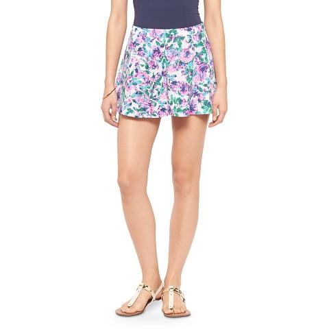 Purple Floral Skirt 22