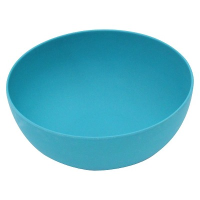 Bamboo Fiber Large Serve Bowl - Turquoise Gem