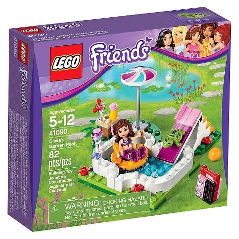 Lego Friends Olivia S Garden Pool 41090 6 63 W Target Red