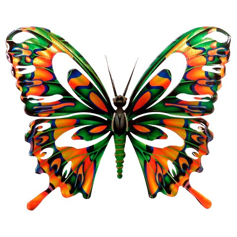 Wall Night Light Target : 3D Wall Art Butterfly - Multicolor (Medium) : Target