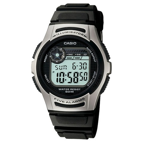 men s casio digital sports black target