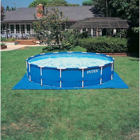 Intex 15 39 X 48 Metal Frame Pool Set Target