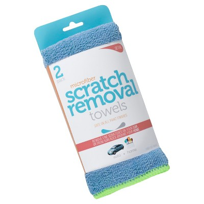 Microfiber Scratch Removal Towels, 2ct