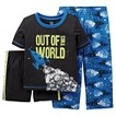 Just One You™ by Carters™ Boys' 3-Piece Rocket  PJ Set - Blue/Black