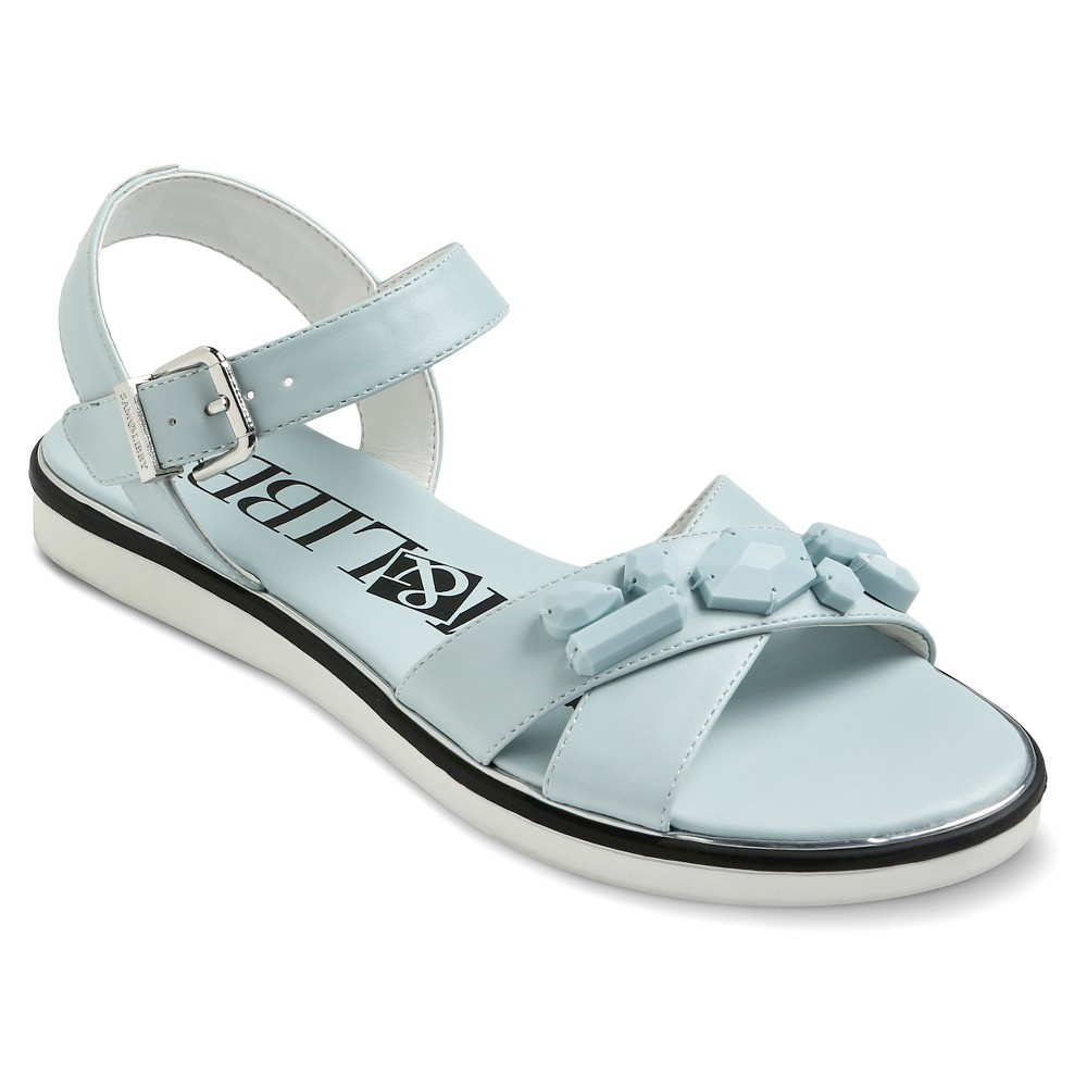d5f92ab0d7f7 Photo for Women s Sam   Libby Jaquelyn Stone Embellished Sandals - Blue 11