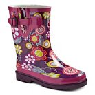 Girl's Floral Rain Boots