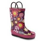 Toddler Girl's Floral Rain Boots