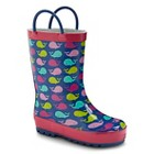 Toddler Girls' Western Chief Whale Rain Boots