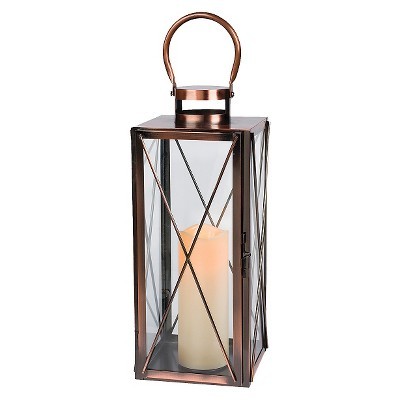 Gerson Single Candle Holder - Copper