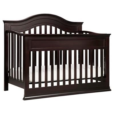 DaVinci Brook 4-in-1 Convertible Crib with Toddler Rail - Dark Java