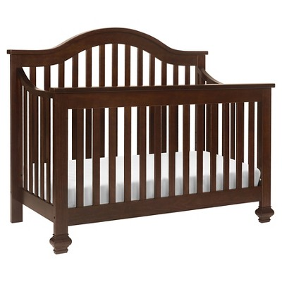 DaVinci Clover 4-in-1 Convertible Crib with Toddler Rail - Espresso