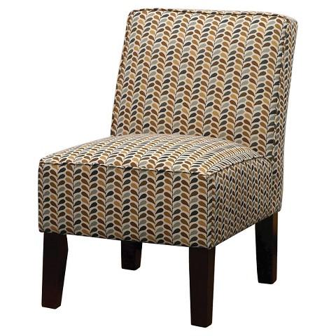 Burke Accent Print Slipper Chair Target
