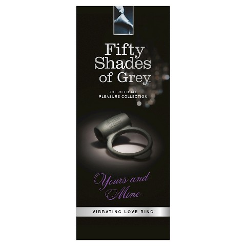 Fifty Shades of Grey Yours and Mine Adult Vibrating Love Ring