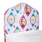 "Disney® Frozen Anna & Elsa Inflatable Headboard and Headboard Slip Cover - Multicolor (36""x41"")"