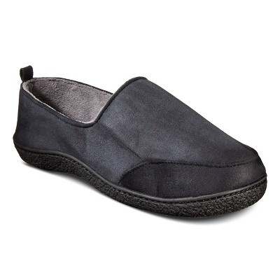 Men's XL Slippers Black - Impressions by Isotoner
