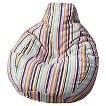 Gold Medal Bean Bag Chair - Multi-Colored
