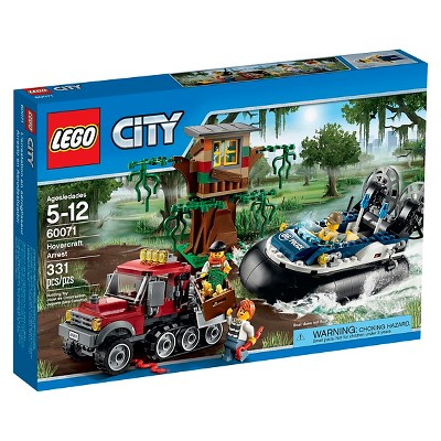 LEGO® City Police Hovercraft Arrest 60071