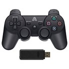 Arsenal Gaming AP3CON8 Wireless Controller Dual Rumble Rechargeable - Black (Playstation 3)
