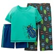 Just One You™ by Carters™ Boys' 3-Piece Bug PJ Set - Blue