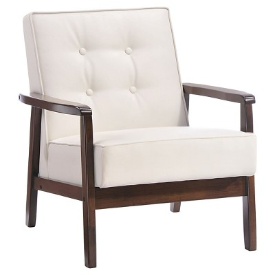 Zuo Upholstered Chair White