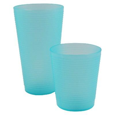 Ecom Drinkware Set Room Essentials Sunbleached Turq