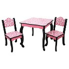 Teamson Kids Table and Chair Set - Leopard