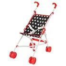 Kidkraft Darling Doll Stroller - Red/Black