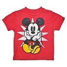 Disney® Mickey Mouse Infant Toddler Boys Tee - Red 18 M