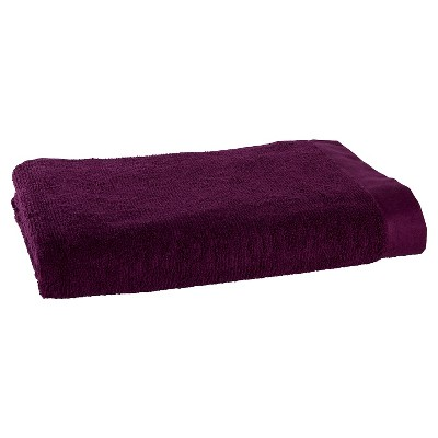 Blank Home Organic Portuguese Bath Towel - Bordeaux
