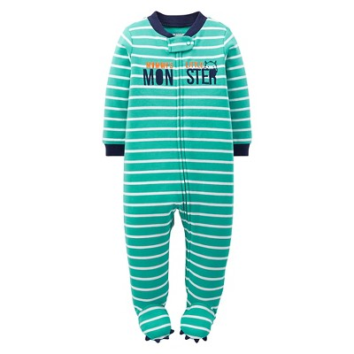 Just One You™Made by Carter's® Newborn Boys' Monster Sleep N' Play - Green NB