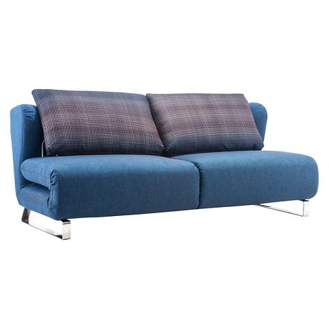 Conic Sleeper Sofa Cowboy Blue Zuo Tar