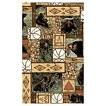 Black Bear Mountain Patch Fabric