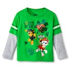 Paw Patrol Toddler Boys' Lucky Dogs Long Sleeve Tee