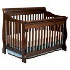 Delta Children Canton 4-in-1 Convertible Crib - Black