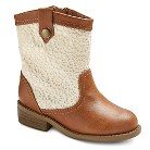 Toddler Girl's Genuine Kids from OshKosh™ Drea America West Crochet Boots - Brown