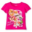 Paw Patrol Toddler Girls' Pups Away Tee - Fuchsia