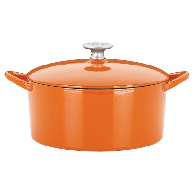 Mario Batali Classic 2 Cup mini Dutch oven - Persimmon