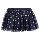 Just One You™Made by Carter's® Newborn Girls' Silver Star Tutu Skirt - Navy