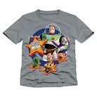 Disney® Toy Story Toddler Boys Tee - Gray